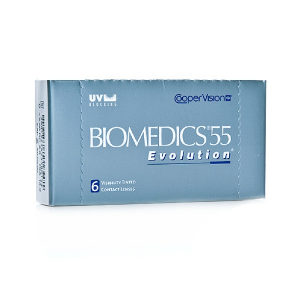 Biomedics 55 UV Evolution , 6er Box