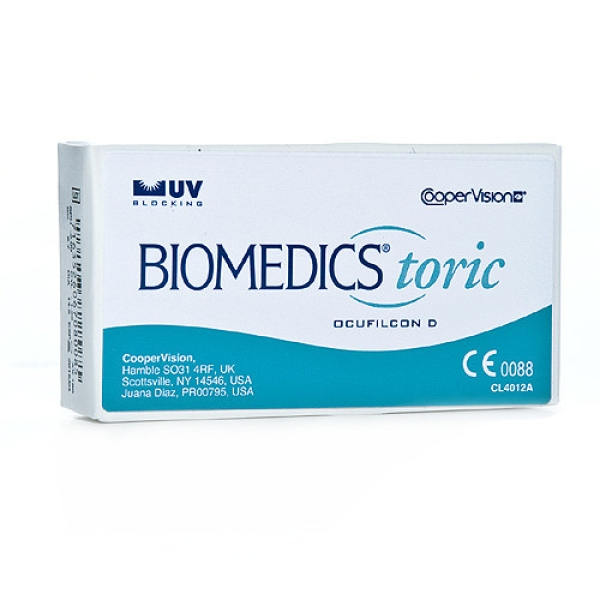 Biomedics Toric , 6 er Box