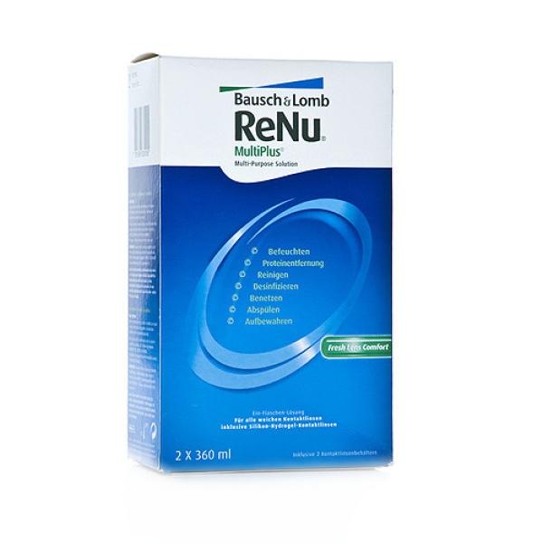 kontaktlinsenhit.de Renu Multiplus - 2 x 360ml