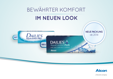 Dailies Aqua Comfort plus - 30er Box