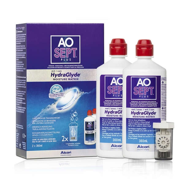 AO SEPT PLUS with HydraGlyde - 2 x 360ml
